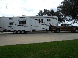 2008 Cyclone 4012 Toyhauler For Sale In Ragly, Louisiana 70657 image 1