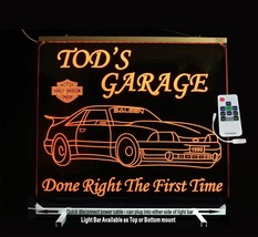 Mustang Man Cave Sign Personalized LED Color Changing  - $158.40