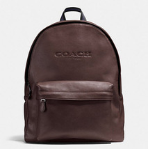 Coach CHARLES BACKPACK IN SPORT CALF LEATHER F 54786 MAHOGANY - $189.00