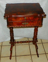 Rosewood 2 Drawer Sewing Cabinet  (BM) - $699.00