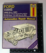 Haynes Repair Manual 344 - Ford Vans - 1969 thru 1991 - E-100 thru E-350 - $9.75