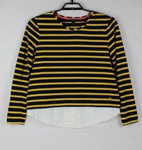 Tommy Hilfiger shirt blouse women's long sleeve striped size XL/TG/XG - $17.99