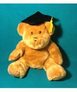 Graduation Teddy Bear Doll Gift Soft Plush Stuffed Toy Cap US Balloon An... - $17.77