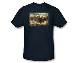 The Hobbit An Unexpected Journey Movie Bilbo and Company Cast T-Shirt NE... - $17.99