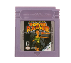 Tomb Raider Nintendo Game Boy Color GBC Cartridge - $10.99