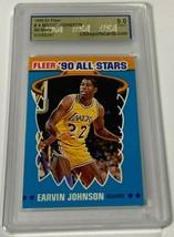 1990-91 FLEER ALL-STARS EARVIN MAGIC JOHNSON #4 USA 9.0 MINT (DR) - $199.99