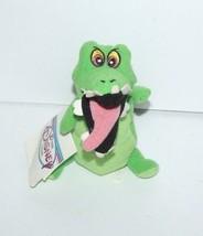 """Disney Store Peter Pan Crock Crocodile Mini Plush Bean Bag 8"""" - $9.79"""