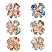 Yeshan Rhinestone and Crystal Metal Jaw Claw Hair Clip,Small Butterfly D... - €11,76 EUR