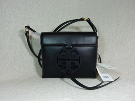 NWT Tory Burch Black Leather Miller Cross-Body Bag $398 - $374.22