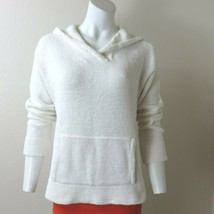 DKNY Classic White Pullover Hoodie Sweater Size M  - $29.65