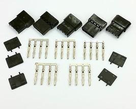 5 Stück - 4-polig Molex PC PSU Stromanschluss Durchgang Stecker / female... - $6.77