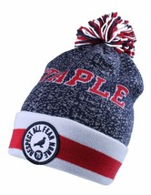 Staple Breakaway Mitchell Ness Respect All Fear None Red White Blue Pom Beanie