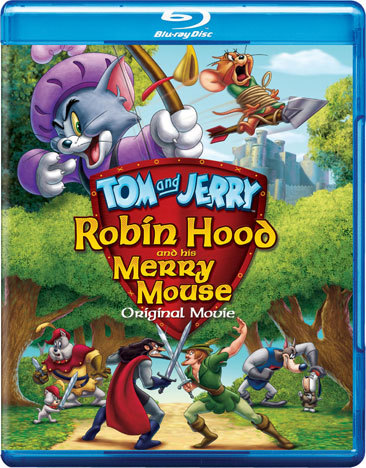 Tom & Jerry-Robin Hood & His Merry Mouse (Blu-Ray/DVD/2 Disc Combo)
