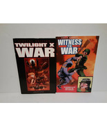TWILIGHT X WAR: SPECIAL EDITION + WITNESS TO WAR GRAPHIC NOVELS - FREE S... - $37.40