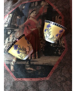 ROYAL CAFE HUAHA CHAOZHOU  Vintage Fabulous 24 K Trim Tea Cups - $30.00