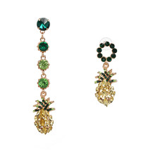 JURAN Pineapple Crystal Drop Dangle Earrings for Women 2019 Hot Sale Boh... - $17.87