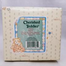 Cherished Teddies Daniel Youre My Little Pumpkin Boy Wagon Figurine  #17... - $12.86
