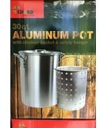 Chard - ASP30 - Aluminum Perforated Safety Hanger - 30 Quart Pot and Str... - $59.35