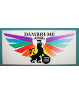 PRINTING INKS Dambreme for Color Lithography - c 1960 Ink Blotter Advert... - $4.49