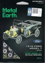 Fascinations Metal Earth 1910 Ford Model T Laser Cut 3D Model T MMS196 - $12.86