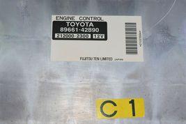 Toyota RAV4 Rav-4 Rav 4 ECM ECU Engine Control Module 89661-42B90 212000-2300 image 3