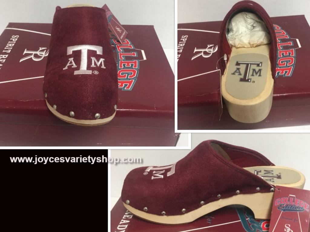 Tx a m shoes web collage