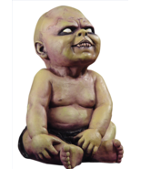 "Halloween Zombie Baby Prop Decor Scary Creepy Latex 16"" Decoration Fang ... - $48.99"