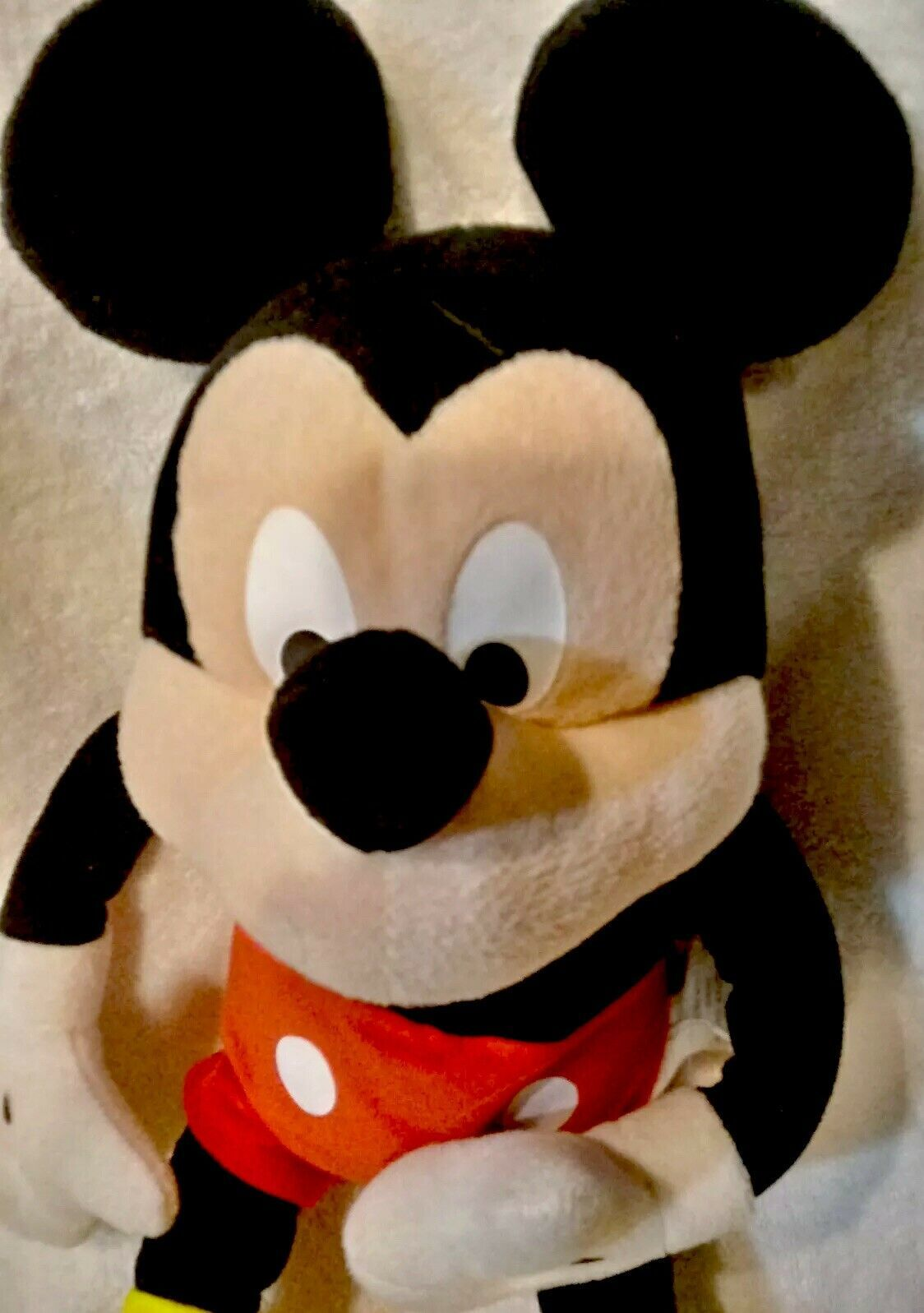 "Disney Mickey Mouse 18"" Plush Doll - Stuffed Toy Licensed image 2"