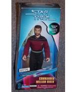 1997 Star Trek Commander William Riker 9 inch Figure Spencer Gifts Exclu... - $29.99