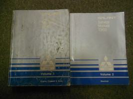 1988 Mitsubishi Galant Service Repair Shop Manual Factory Oem Book 88 2 Vol Set - $23.72