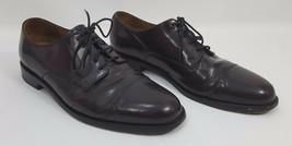 Cole Haan Men's 10D Brown Leather Dress Oxford Shoes - $28.04