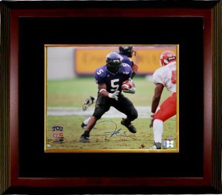 Primary image for Ladainian Tomlinson signed TCU Horned Frogs 16x20 Photo Custom Framed- Tomlinson