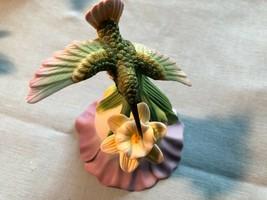 Hummingbird on a Porcelain Flower AVON Figurine No Box Mint Condition 2000 - $15.99
