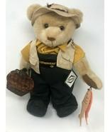 "Douglas Fly Fisherman Teddy Bear 17.5"" Limited 1st Edition 1500 DANA Wea... - $49.49"