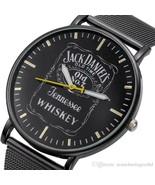 Luxury Jack Daniel's Watch Stainless Steel Wrist Whisky Handwatch Quartz - $12.95