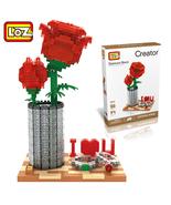 1 pc LOZ Diamond Crystal Rose Building Blocks - $37.95