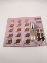 3 X It Cosmetics Your Skin But Better + Skincare Foundation 5 Shade Sample Card - $10.84