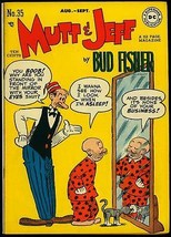 Mutt & Jeff #35 1948- DC Golden Age- Scribbly #1 full page ad FN/VF - $88.27