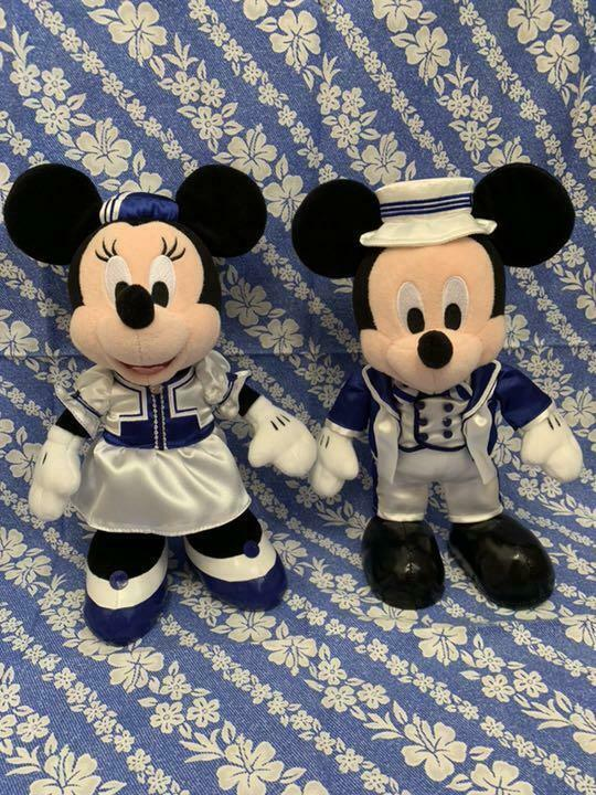 Disney Mickey x Minnie Ambassador Hotel Plush Only For Guests Rare JapanLimited