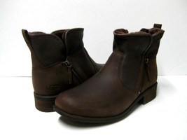 UGG LAVELLE WOMEN ANKEL BOOTS LEATHER STOUT US 12 /UK 10.5 /EU 43 - $138.59