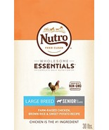 NUTRO WHOLESOME ESSENTIALS Natural Senior Large Breed Dry Dog Food Farm-... - $50.04