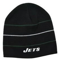 New York Jets Black Striped NFL Beanie Winter Hat - $18.99