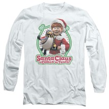 Santa Claus is Comin to Town Retro 70's Christmas TV Special long sleeve DRM130 image 1