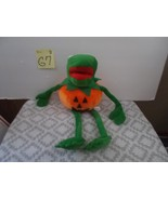 Kermit the Frog in PUmpkin.  Halloween PLush, by Yes Club - $16.99