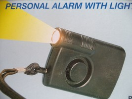 Personal Alarm with Light. - $8.42