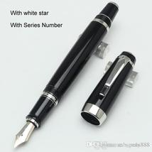 4 styles Limited edition MT series Fountain pen black or gold body with serial n - $32.99