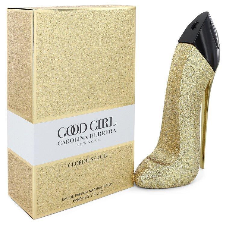 Carolina herrera good girl glorious gold 2.7 oz edp