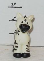 Fisher Price Current Little People Noahs Ark Male Zebra FPLP - $3.00