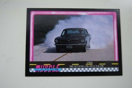 MUSCLE CARDS SERIES 1 KING OF THE HILL #82 1966 FORD MUSTANG 289 HI PO C... - $3.72