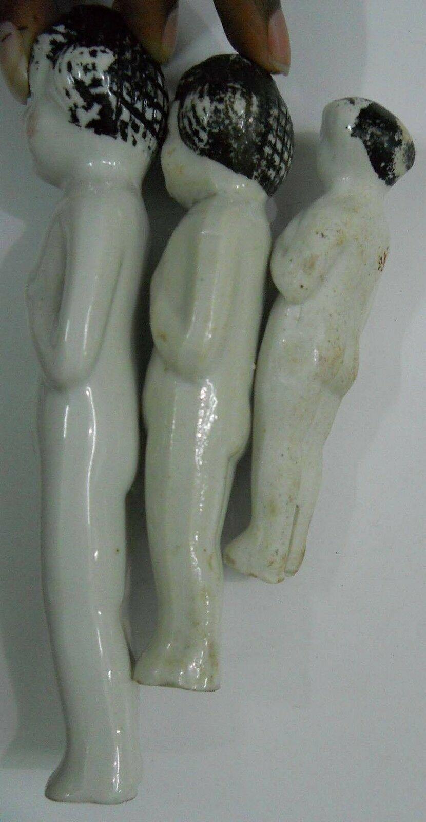 Vintage Porcelain Figurine 3 Girls over 40 years old #Po-7 image 10